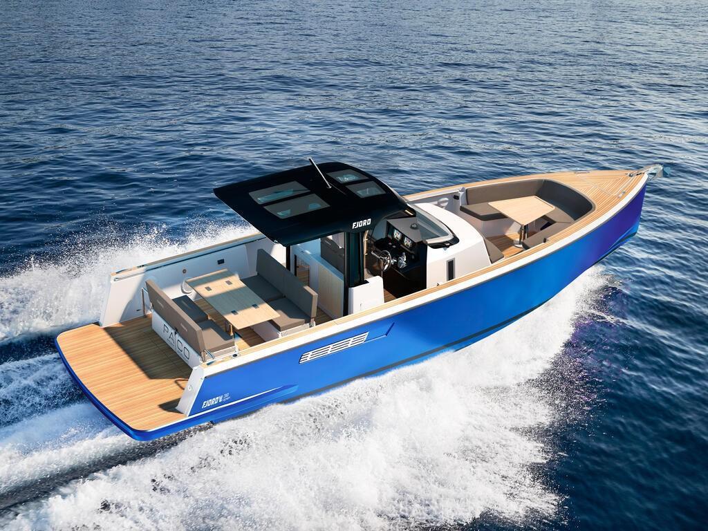 Barche a motore. open (fjord 38)