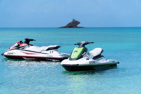 Barche a motore: moto d'acqua