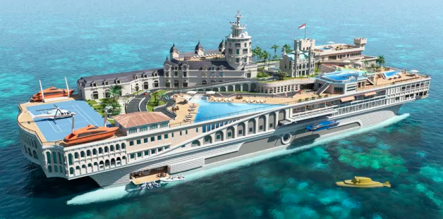 Yacht più costosi al mondo: Streets of Monaco