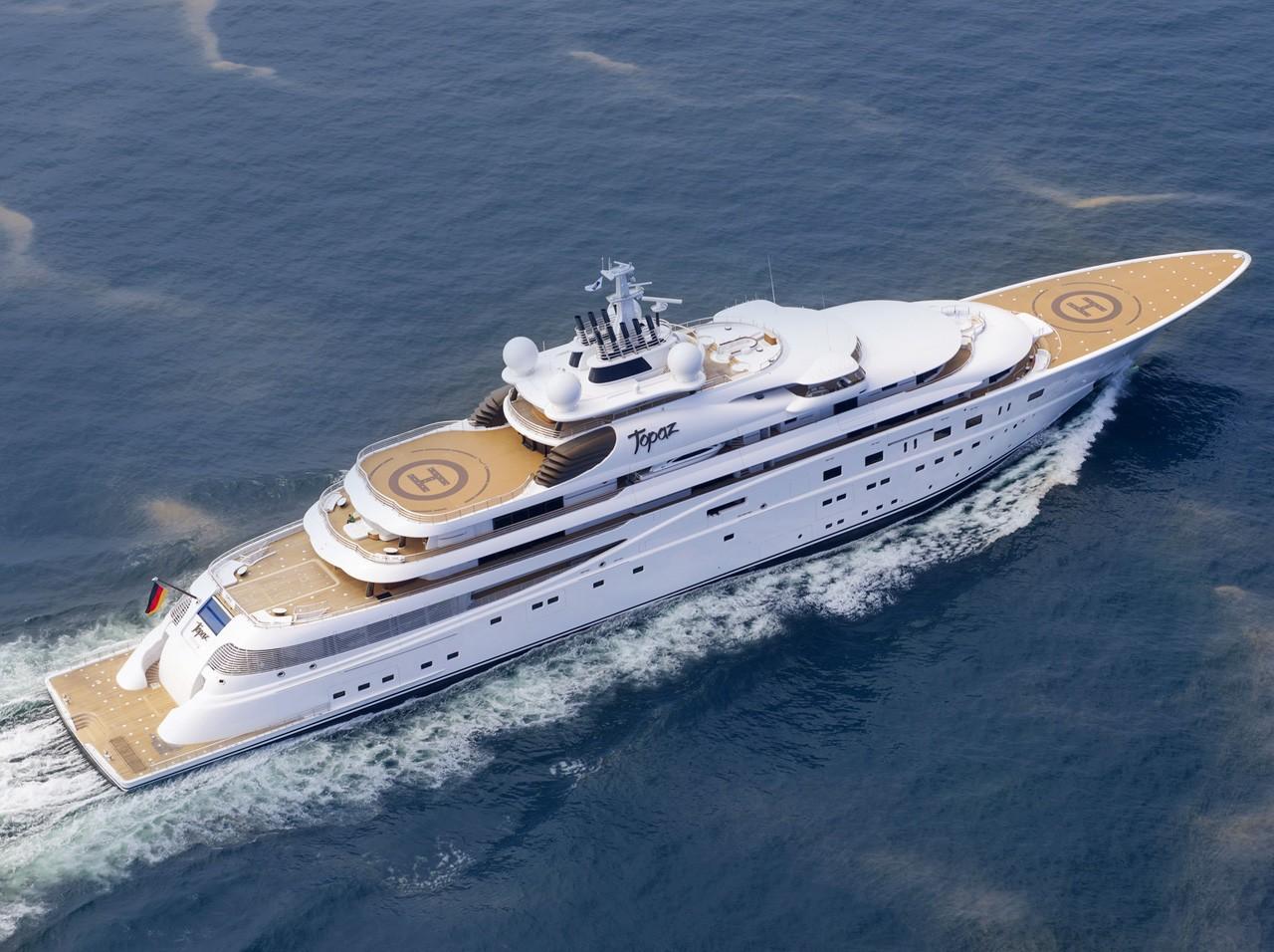 Yacht più costosi al mondo: Topaz