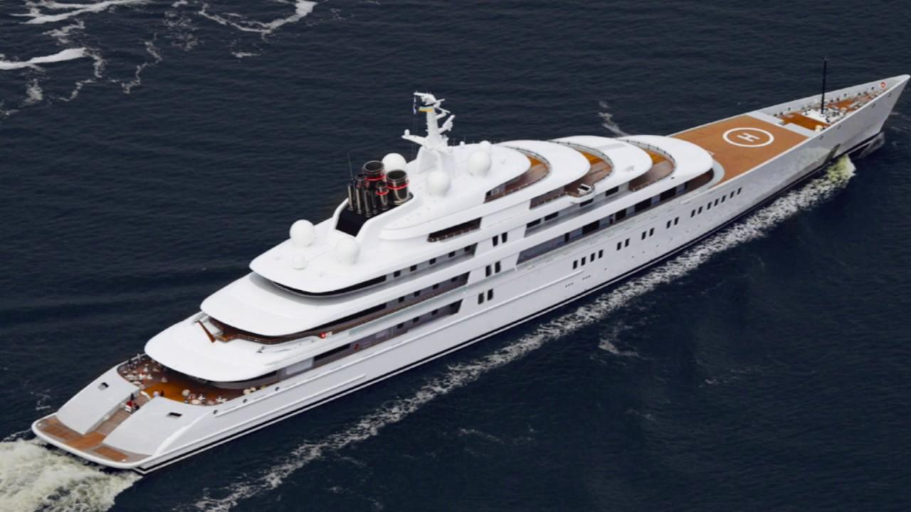 Yacht più costosi al mondo: Azzam
