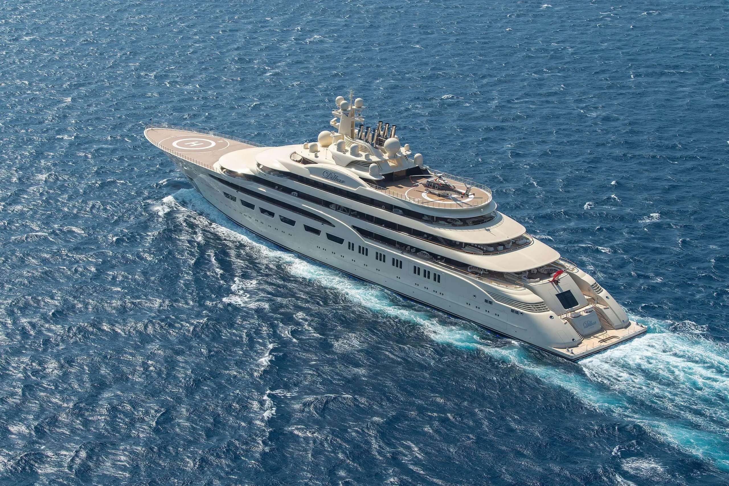 Yacht più costosi al mondo: Dilbar