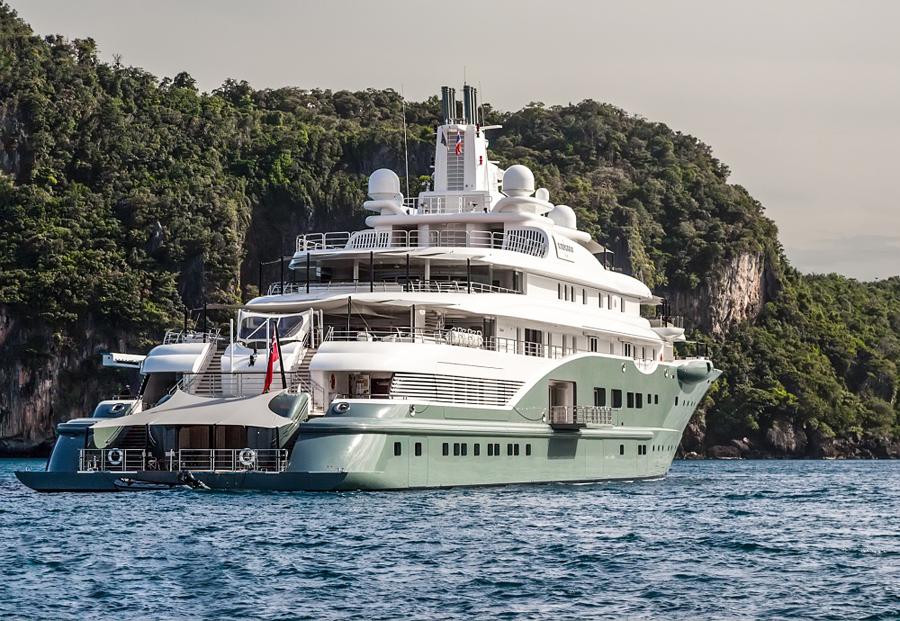 Yacht più costosi al mondo: Radiant