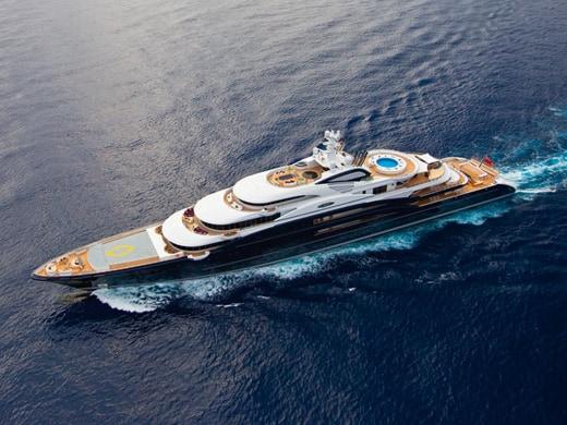 Yacht più costosi al mondo: Serene