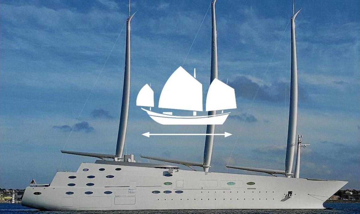 Parti Di Una Barca la barca a vela più grande del mondo - inautia