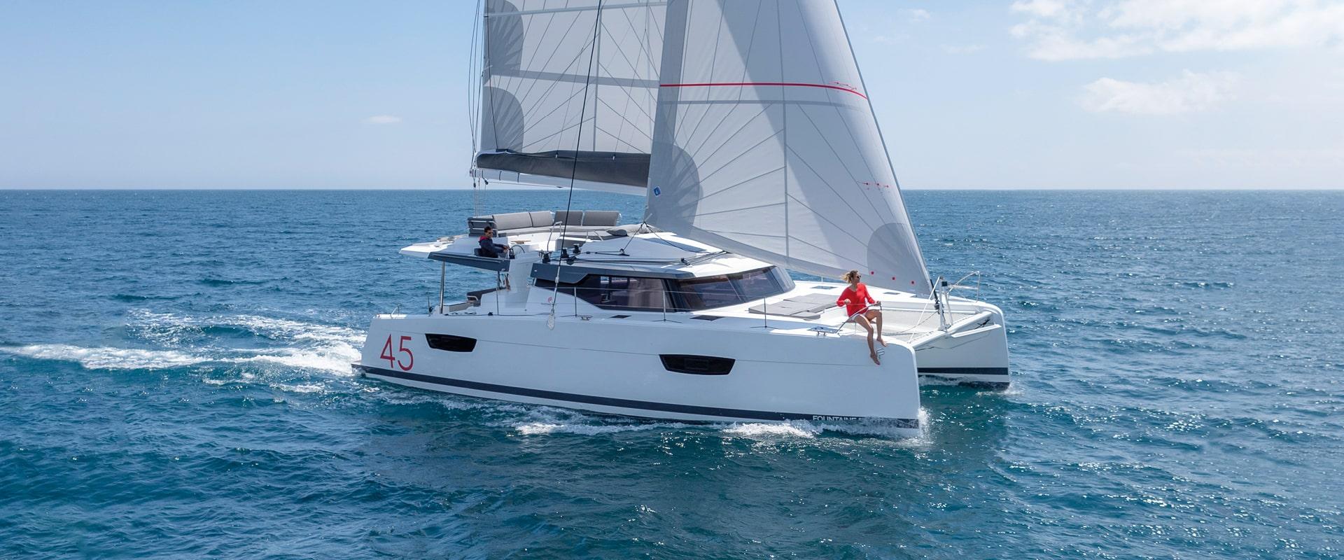 Parti di una barca a vela: catamarani