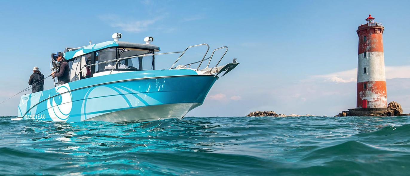 Le migliori barche da pesca 2021 - Beneteau Barracuda 8