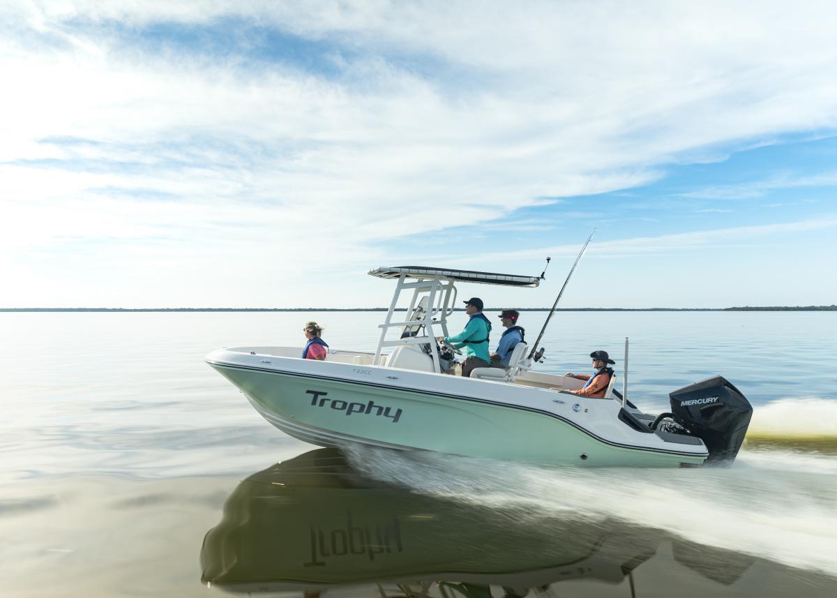 Le migliori barche da pesca 2021 - Bayliner Trophy 22 CC