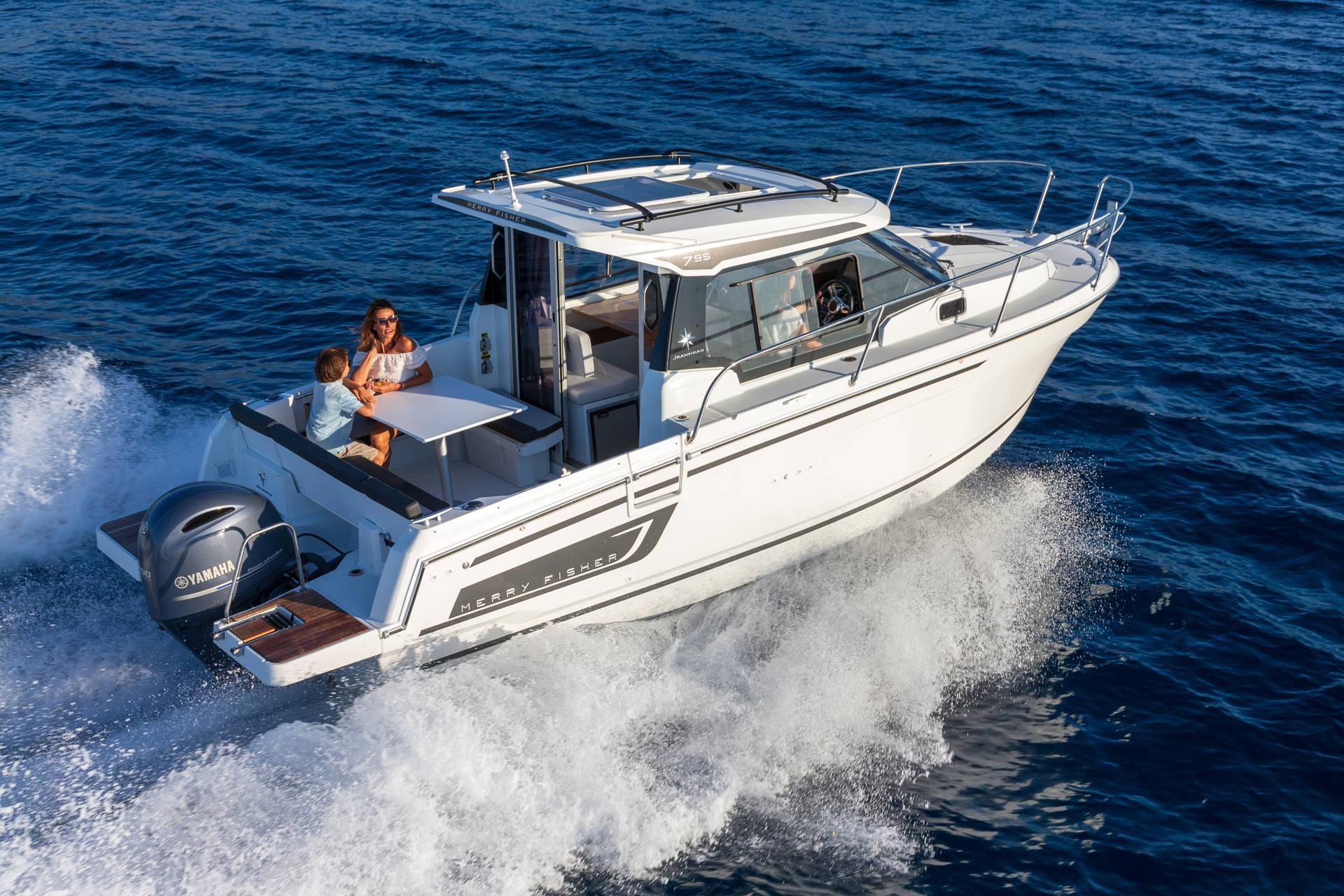 Le migliori barche da pesca 2021 - Jeanneau Merry Fisher Serie 2