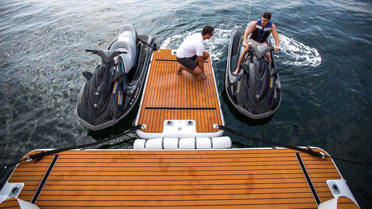Accessori per barca - spiaggetta