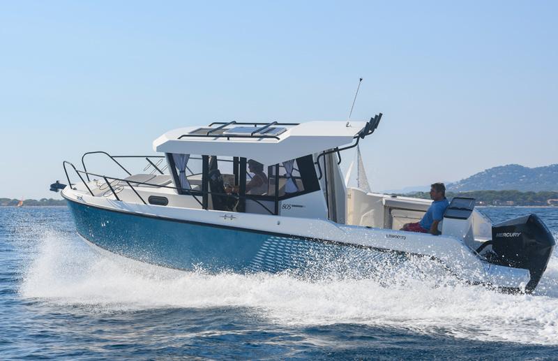 Le migliori barche da pesca 2021 - Quicksilver Captur 805 Pilothouse