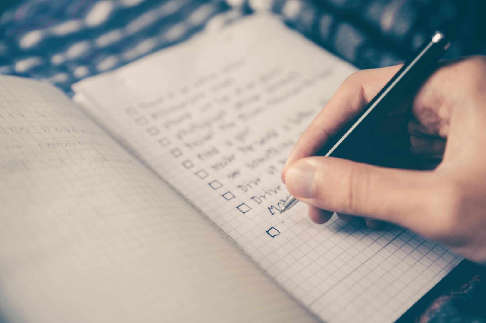 La checklist definitiva per salpare in sicurezza