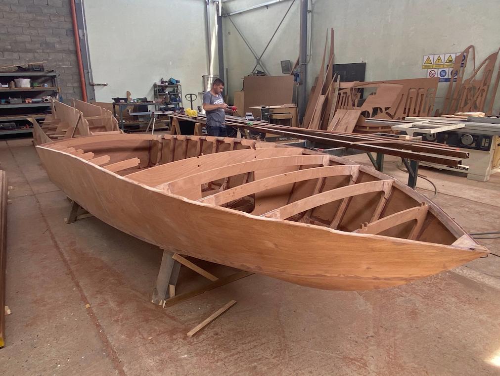 CNA Yachts - materiali