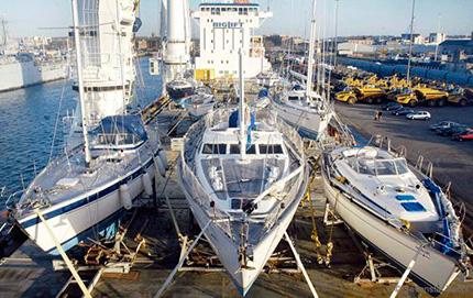 Trasporto di barche