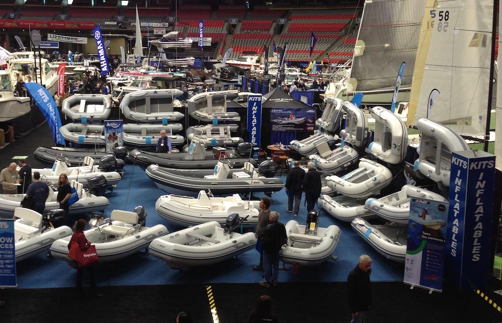 Sul mercato esistono diverse opzioni di gommoni con molte configurazioni e accessori. Foto: Kits Inflatables