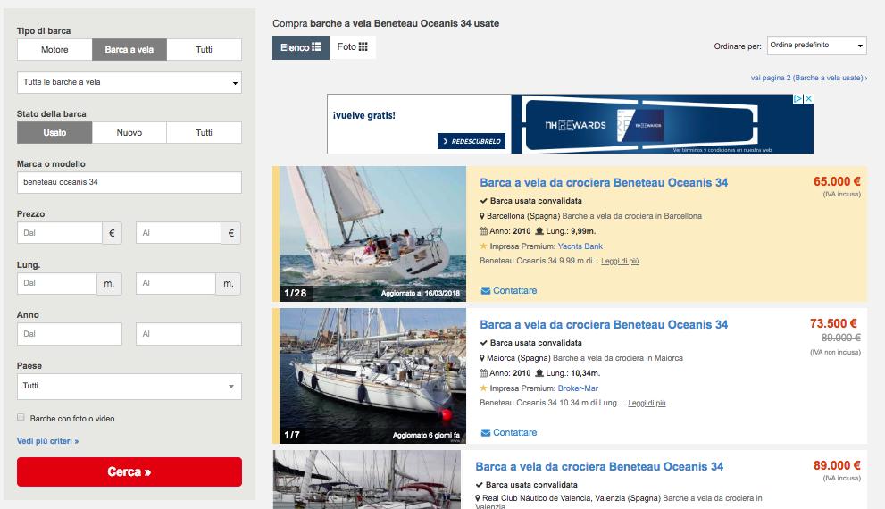 Fare un'analisi dei prezzi di mercato sui portali di compravendita di barche usate ti permetterà di valutare la tua imbarcazione e definire un prezzo giusto e competitivo.