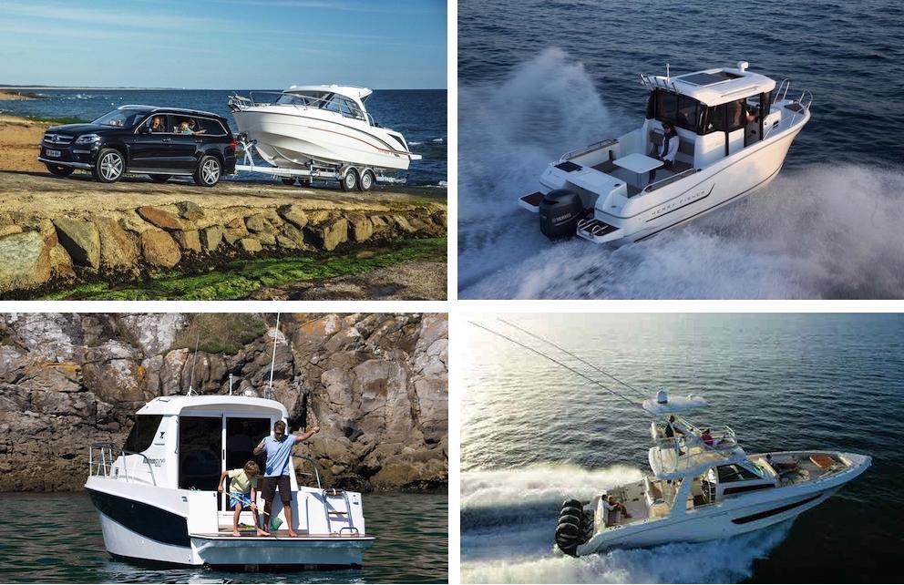 Grazie alla loro stabilità e alla loro ampiezza interne, le barche da pesca si adattano bene anche ai programmi familiari