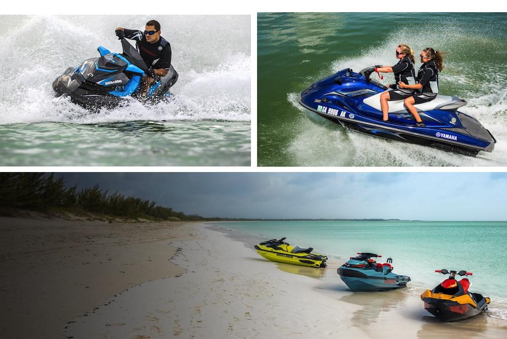 Una moto nautica consente di essere a contatto quasi diretto con l'acqua a un prezzo relativamente ragionevole.