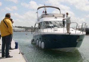 La prueba de navegación es el momento de la verdad: ¿el barco navega como esperabas? ¿La velocidad y comodidad corresponden a tus expectativas?