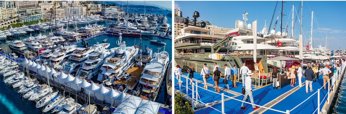 Monaco Yacht Show. Foto: Naturally yachting.