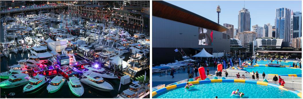 Sydney International Boat Show. Foto: Oztix e Echibition World.