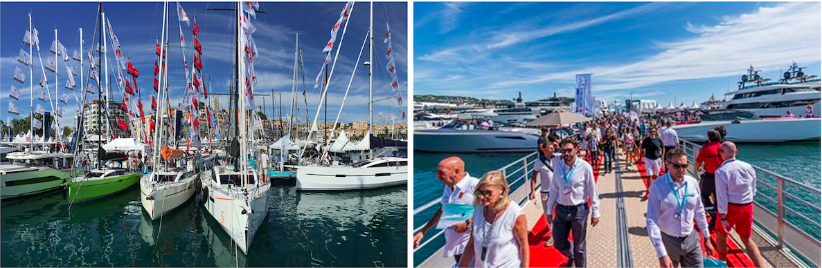 Cannes Yachting Festival. Foto: RM Yachts e Yachting Pages.