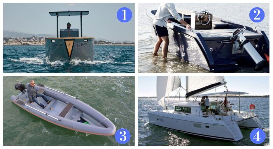 modelli di barche con motore elettricdo
