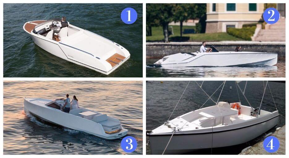 Modelli di barche elettriche