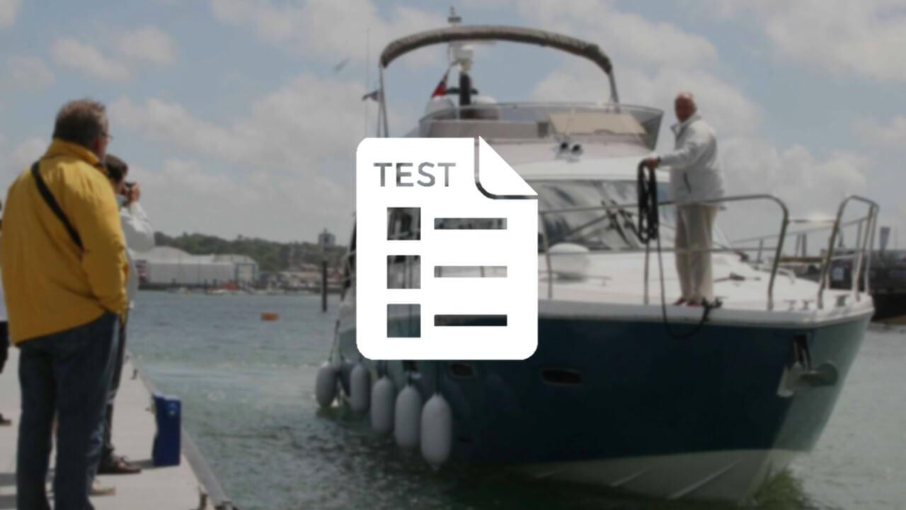 La prova in mare